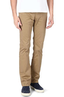 HUGO BOSS Rice slim-fit stretch-cotton chinos