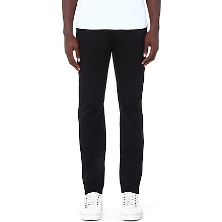HUGO BOSS Rice slim-fit chinos (Black