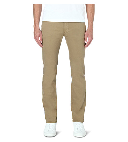 HUGO BOSS Slim-fit chinos (Tan