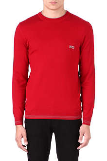 HUGO BOSS Long-sleeved logo top