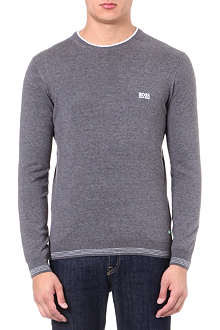 HUGO BOSS Rime logo knitted jumper