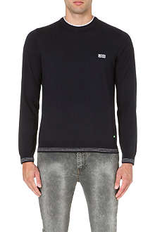 HUGO BOSS Rime knitted jumper