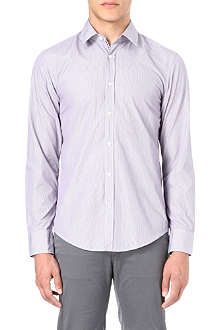 HUGO BOSS Slim-fit striped shirt