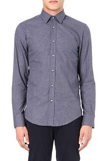 HUGO BOSS Slim-fit houndstooth shirt