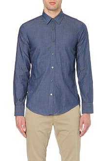 HUGO BOSS Ronny slim-fit chambray shirt