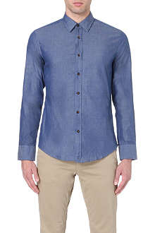 HUGO BOSS Ronny slim-fit chambray shirt