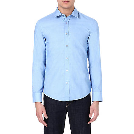HUGO BOSS Ronny slim-fit shirt (Blue