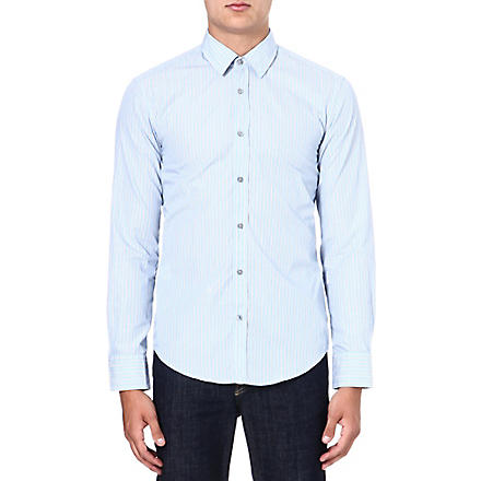 HUGO BOSS Ronny rope stripe shirt (Blue