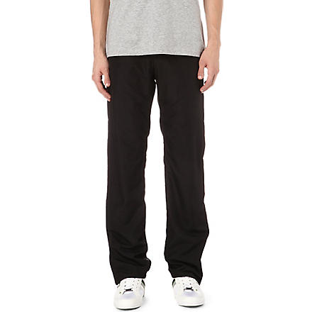 HUGO BOSS Slim-fit jogging bottoms (Black