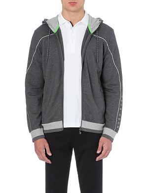 HUGO BOSS Saggy zip-up hoody