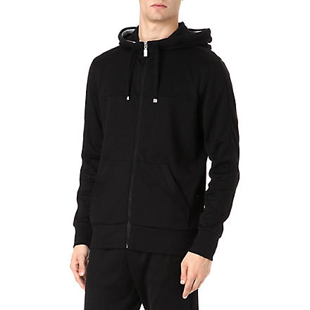HUGO BOSS Zip through hoodie (Black