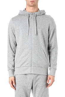 HUGO BOSS Saggy zip-through hoody