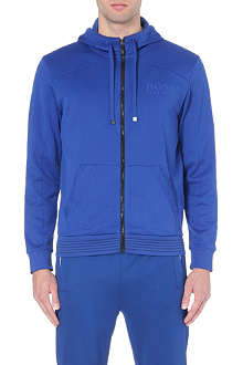 HUGO BOSS Saggy zip thru hoody