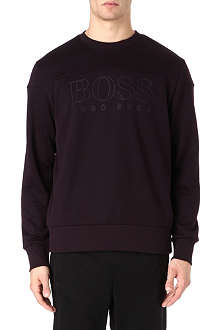 HUGO BOSS Tonal logo crew-neck sweatshirt