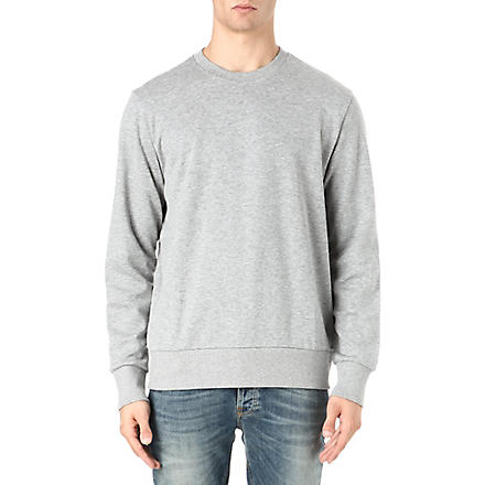 HUGO BOSS Small logo sweatshirt (Grey