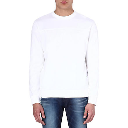 HUGO BOSS Branded sweatshirt (White