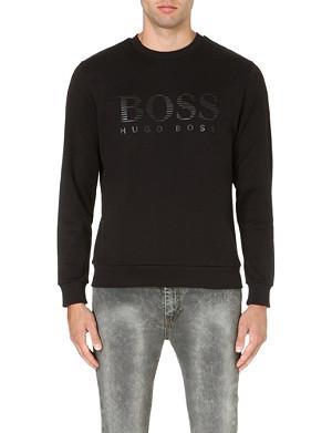 HUGO BOSS Salbo logo-print sweatshirt