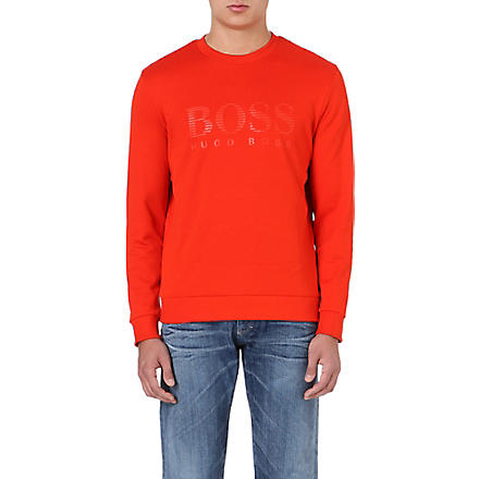 HUGO BOSS Logo sweatshirt (Orange
