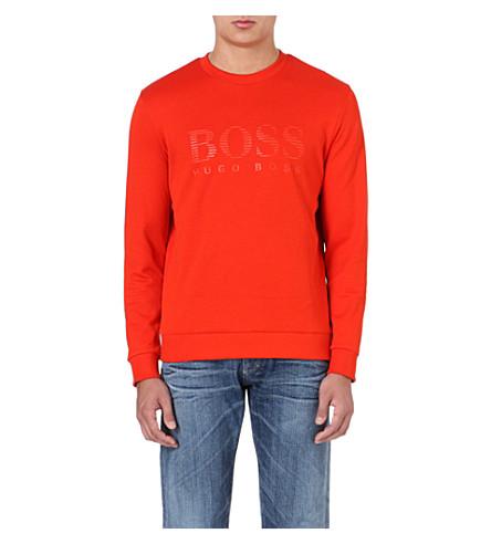 HUGO BOSS Logo sweatshirt (Orange
