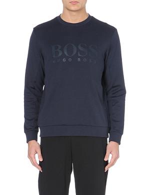 HUGO BOSS Salbo jersey sweatshirt