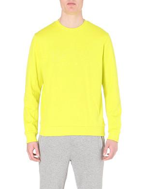 HUGO BOSS Jersey logo sweatshirt