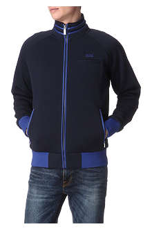 HUGO BOSS Salvo zip-up sweatshirt