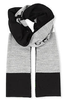 HUGO BOSS Block stripe scarf
