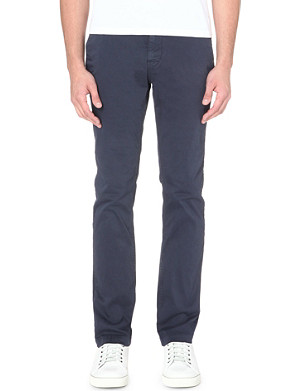 HUGO BOSS Slim-fit stretch-cotton chinos