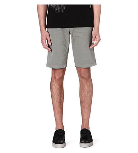 HUGO BOSS Schino cotton shorts (Khaki