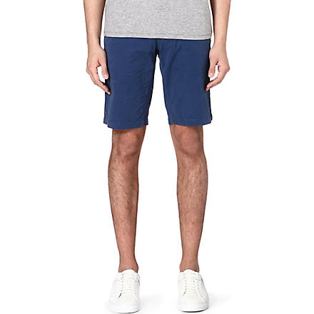 HUGO BOSS Schino cotton shorts (Blue