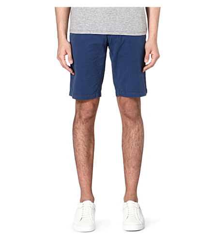 HUGO BOSS Schino cotton shorts (Blue