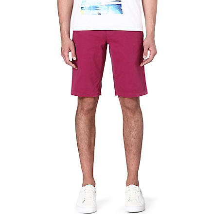 HUGO BOSS Schino cotton shorts (Purple