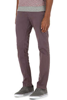 HUGO BOSS Slim stretch-cotton chinos 34