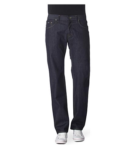 HUGO BOSS Scout 1 straight-leg jeans (Navy