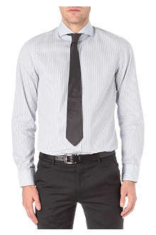 HUGO BOSS Striped cotton shirt