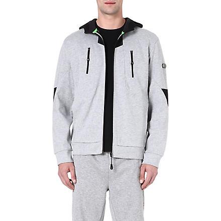 HUGO BOSS Soleilo jersey hoody (Grey