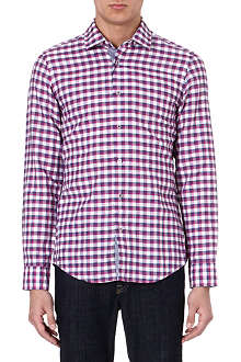 HUGO BOSS Stefan check shirt