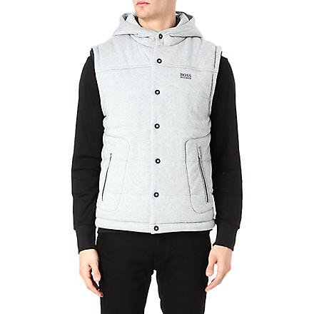 HUGO BOSS Svante quilted gilet (Grey