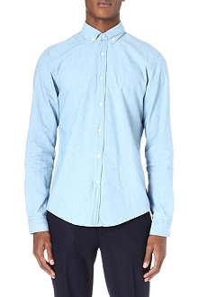 HUGO BOSS Oxford denim shirt