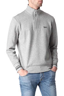 HUGO BOSS Striped-cuffs sweatshirt