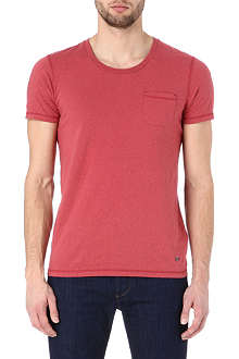 HUGO BOSS Tarko speckled t-shirt