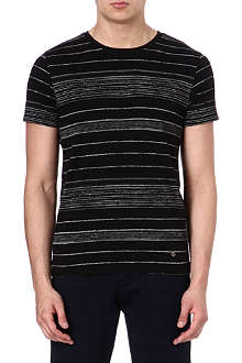 HUGO BOSS Pencil stripe t-shirt