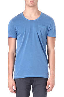 HUGO BOSS Scoop neck plain t-shirt