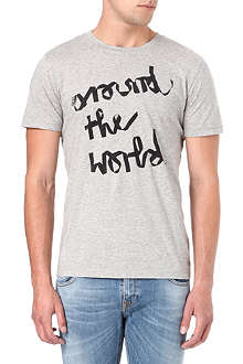 HUGO BOSS Around the World the t-shirt