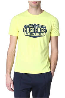 HUGO BOSS Logo badge t-shirt