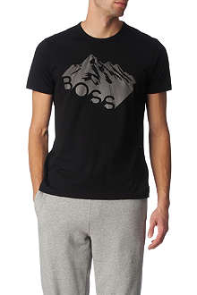 HUGO BOSS Mountain logo t-shirt