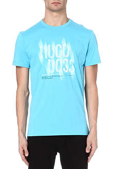 HUGO BOSS Graphic logo t-shirt