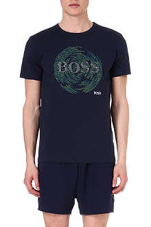 HUGO BOSS Circle print t-shirt