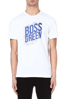 HUGO BOSS Technology logo t-shirt