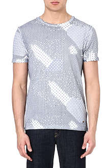 HUGO BOSS Geometric print t-shirt